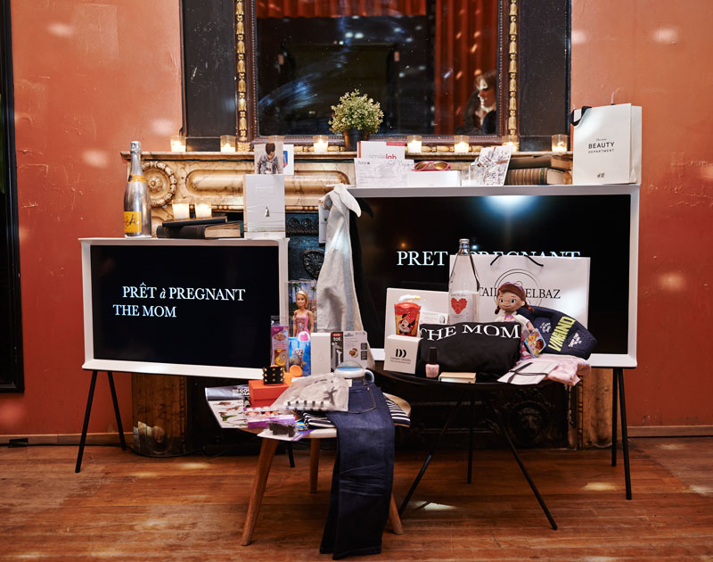Report Launch redesigned websites The Mom The Dad Pret a Pregnant Apt. Amsterdam (3)