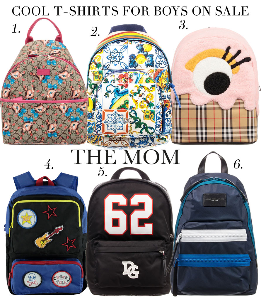 ... school bag and that s why we ve selected 6 of our favorite designer  backpacks for boys and girls. From a cool Fendi monster bag to the cutest  Burberry ...