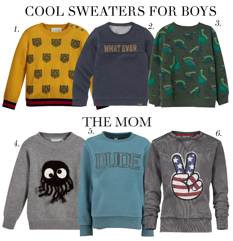 It\u0027s sweater weather Cool Sweaters for Boys , The Mom